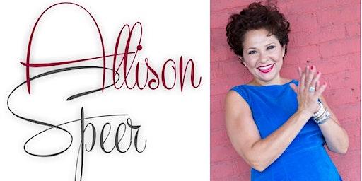Allison Speer Concert and Pre-Show Dinner