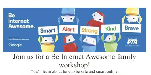 Be Internet Awesome! family workshop