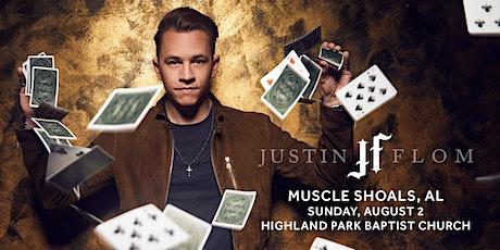 Justin Flom (Muscle Shoals, AL) tickets
