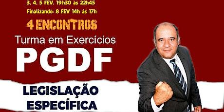 PGDF :Legislação Específica - TURMA PLAY ingressos