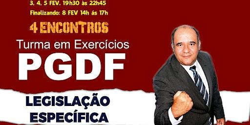 PGDF :Legislação Específica - TURMA PLAY