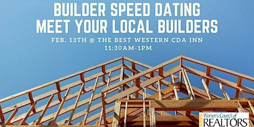 Builder Speed Dating - Meet Your Local Builders