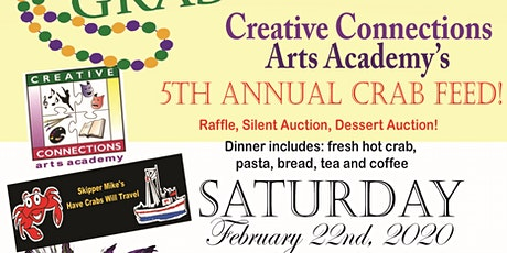 Creative Connections Arts Academy 5th Annual Crab Feed tickets
