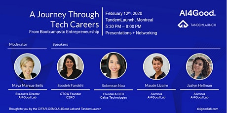 A Journey Through Tech Careers: From Bootcamps to Entrepreneurship tickets