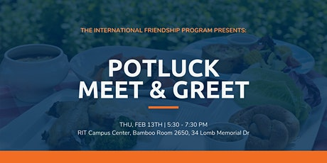 International Friendship Program: Potluck Meet & Greet tickets