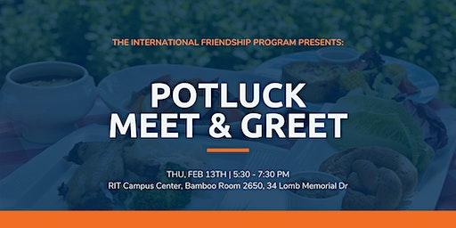 International Friendship Program: Potluck Meet & Greet