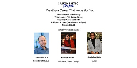 Creating A Career That Works For You tickets