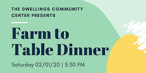 Community Farm to Table Dinner