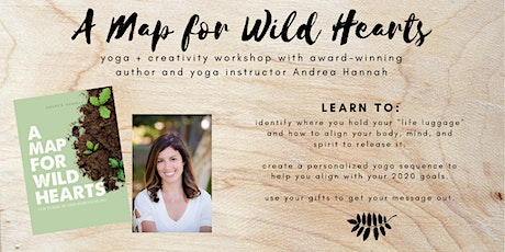 Mapmaking for Wild Hearts: Yoga + Creativity Workshop tickets