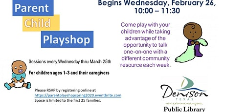 Parent Child Playshop Spring 2020 tickets