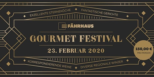 Das FÄHRHAUS Gourmet Festival