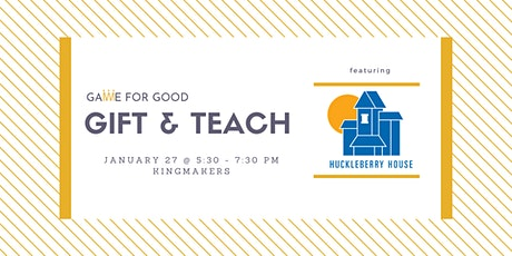 Board Game Drive Gift & Teach with Huckleberry House (Columbus) tickets