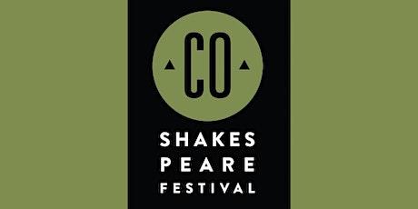 Colorado Shakespeare Festival tickets