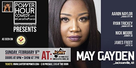 Power Hour Comedy starring May Gayden tickets