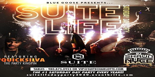 SUITE LIFE SATURDAY DAY PARTY - CIAA Tournament Weekend