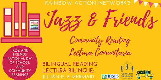 Rainbow Action Network's Jazz and Friends Community Reading at CRC