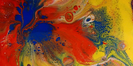 Half Term Acrylic Pour Painting for Beginners - Children Aged 8 - 11