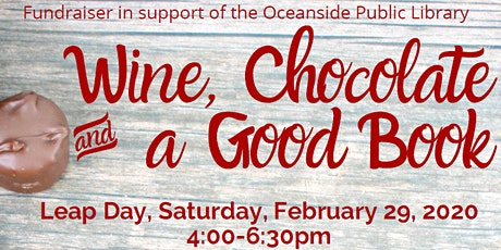 Wine, Chocolate, and a Good Book 2020 tickets