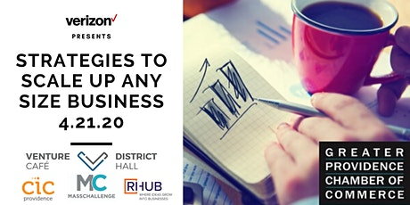 Strategies to Scale Up Any Size Business tickets