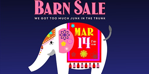 AVAM's White Elephant Barn Sale