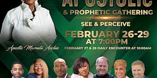 Apostolic & Prophetic Gathering