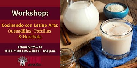 Workshop: Cocinando con Latino Arts tickets