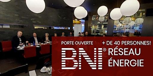 (Porte ouverte)Réseau Énergie - Déjeuner réseautage d'affaires