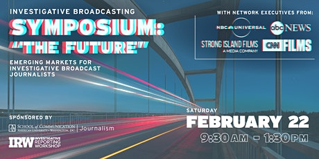The Future: Emerging Markets for Investigative Broadcast Journalists tickets