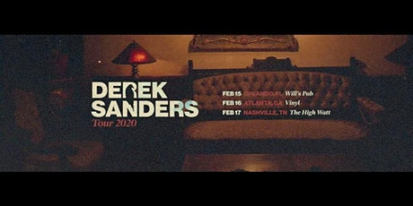 Derek Sanders at Will's Pub tickets