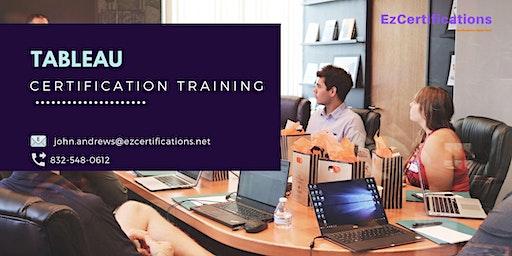 Tableau Certification Training in Dorval, PE