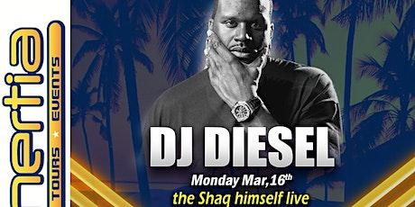 DJ Diesel - THE Shaq himself LIVE Spring Break 2020 South Padre Island, Texas tickets