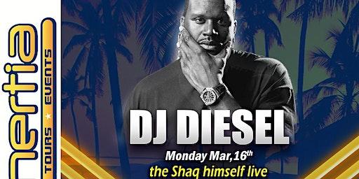 DJ Diesel - THE Shaq himself LIVE Spring Break 2020 South Padre Island, Texas