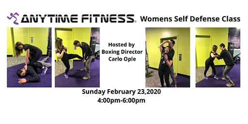 Womens Self Defense Class at Anytime Fitness Pasadena