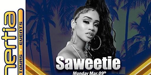Saweetie LIVE in Concert Spring Break 2020 South Padre Island, Texas