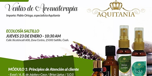 Ventas de aromaterapia