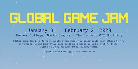 Global Game Jam 2020 @ Humber College North Campus tickets