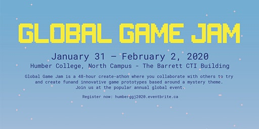 Global Game Jam 2020 @ Humber College North Campus