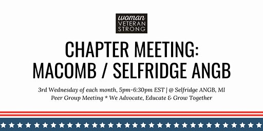 Woman Veteran Strong: Chapter Meeting (Selfridge ANGB)