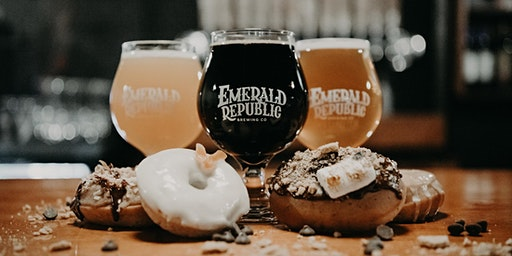 Donuts and Drafts - Le Dough/Emerald Republic Brewing Pairing
