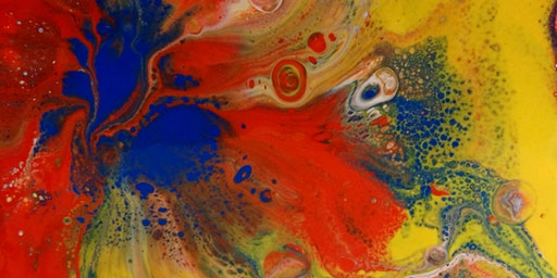 Half Term Acrylic Pour Painting for Beginners - Children Age 12+
