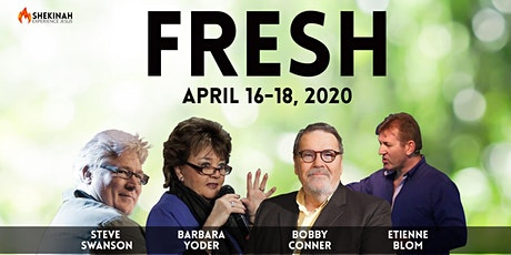 Fresh Spring Conference with Bobby Conner and Etienne Blom tickets