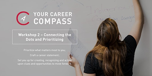 Your Career Compass: Session 2 – Connecting the Dots and Prioritizing