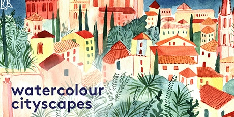 Watercolour Cityscapes tickets