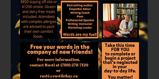 Writing Retreat - Invest in You, Invest In Your Words