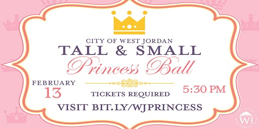 Small and Tall Princess Ball