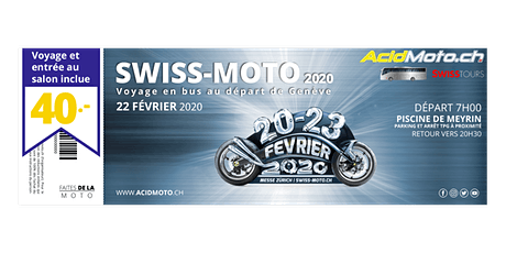 Les genevois à Swiss-Moto 2020 billets