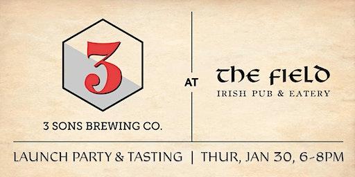 3 Sons Brewing at The Field Irish Pub