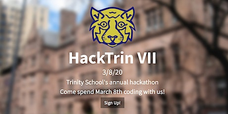 HackTrin VII: NYC Hackathon for High Schoolers and Middle Schoolers tickets