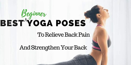 FREE Yoga For Back Care Class! tickets