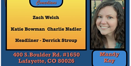 Comedy Show at FRONT RANGE BREWING COMPANY tickets